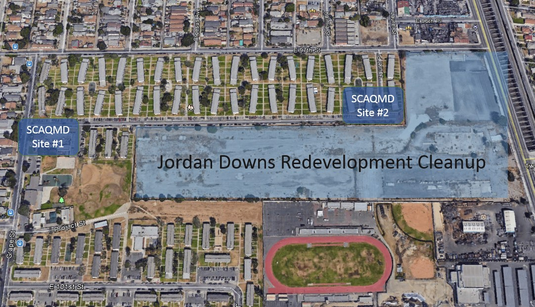Jordan Downs Redevelopment Cleanup