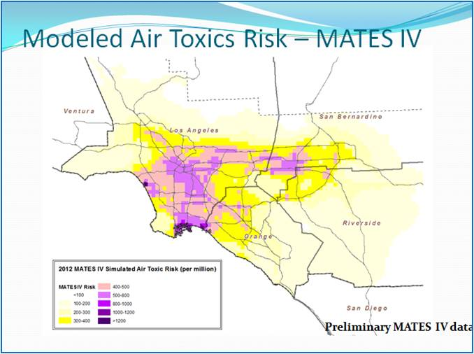 Major Air Toxics Study Shows Steep Decline In Cancer Risk To