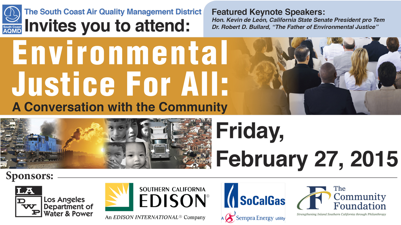 Environmental Justice Conference Banner