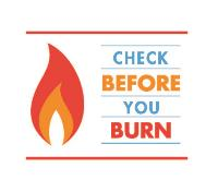 Check Before You Burn